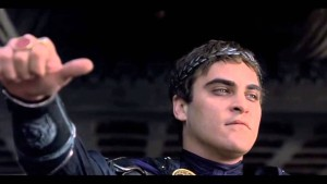 Commodus reads my stuff.